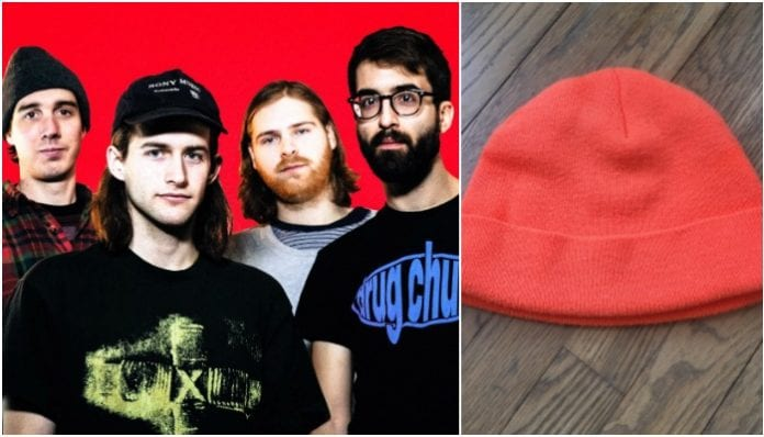 heart attack man beanie