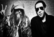 Marilyn Manson and Rob Zombie