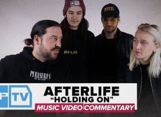 afterlife holding on music video commentary