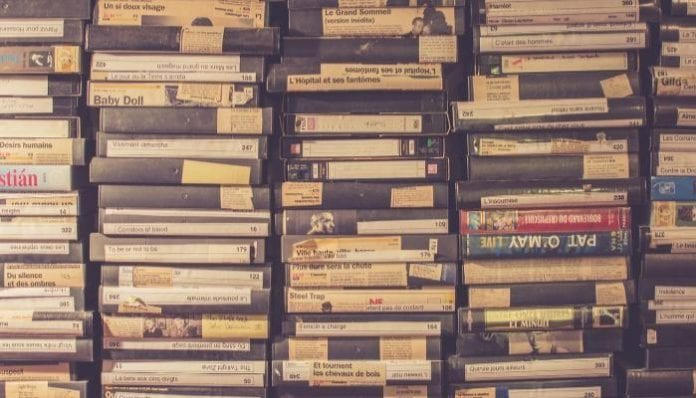 VHS Tapes, Urban Outfitters