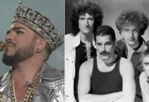 queen, adam lambert, fire fight australia