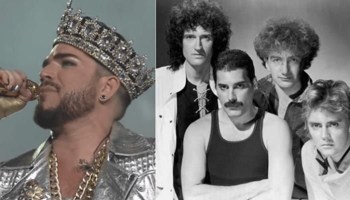 """Adam Lambert can match Freddie Mercury """"and more,"""" Queen's Brian May says"""