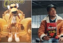 Cheetos Doritos diss, Chester Cheetah