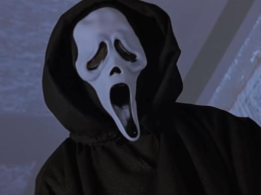 scream movie ghostface