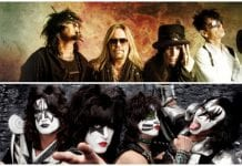 Mötley Crüe and KISS