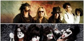 Mötley Crüe and KISS