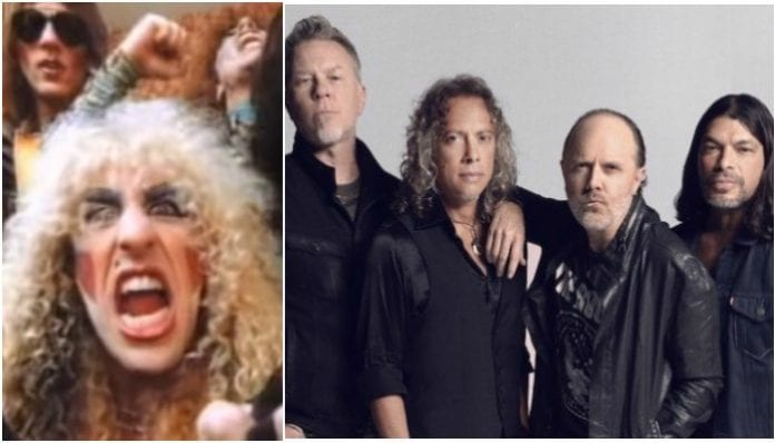 Twisted Sister and Metallica