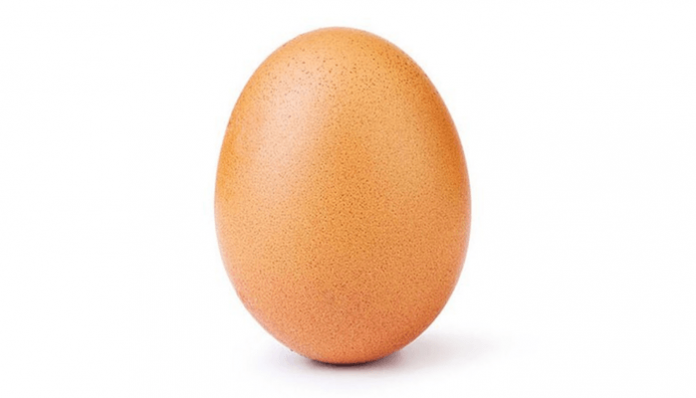 world record egg instagram