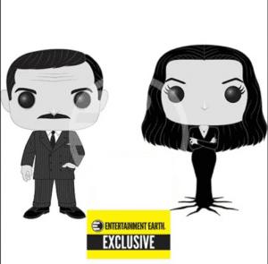 Morticia and Gomez Addams Funko Pop