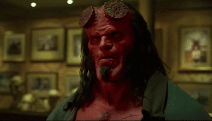 David Harbour thinks Hellboy could take Thanos in a battle of wits