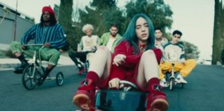"Billie Eilish ""bad guy"" video"