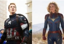 Captain Marvel, Captain America