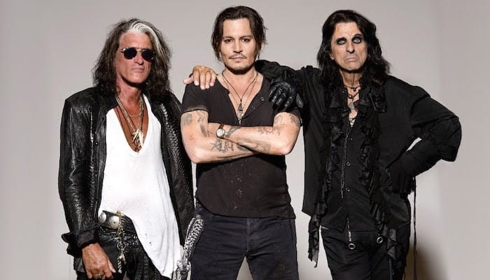 Hollywood Vampires (Alice Cooper, Johnny Depp, Joe Perry) announce tour