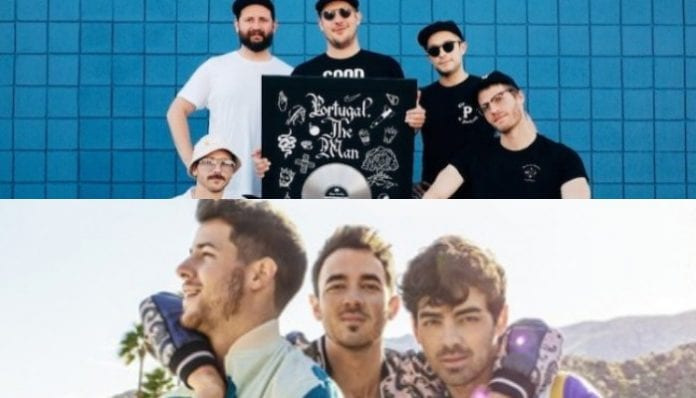 jonas brothers portugal the man