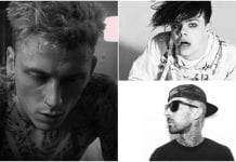 Travis Barker, Yungblud, Machine Gun Kelly