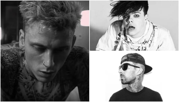 Mgk Travis Barker Yungblud Film Video For Unreleased Song