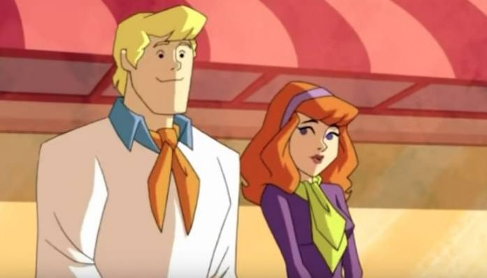 scooby doo fred daphne animated