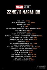 AMC Marvel movie marathon