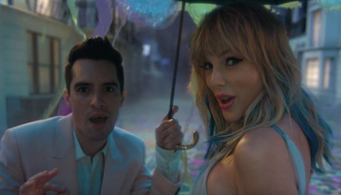 brendon urie taylor swift me video