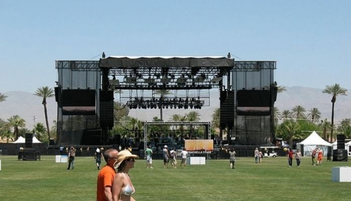 Coachella stage 2007