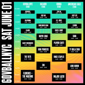Governors Ball 2019 Saturday