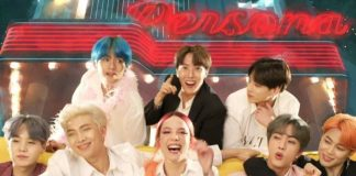 """Halsey BTS """"Boy With Luv"""" video"""