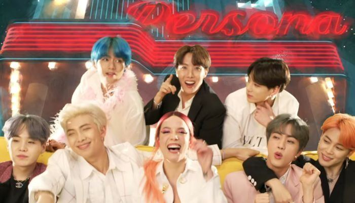 Bts Halsey Debut Dreamy Boy With Luv Music Video