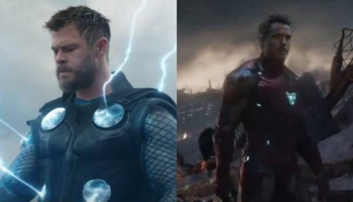 thor avengers iron man