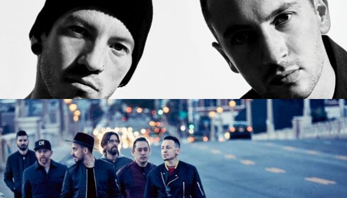 Linkin Park, twenty one pilots collide on this mashup track