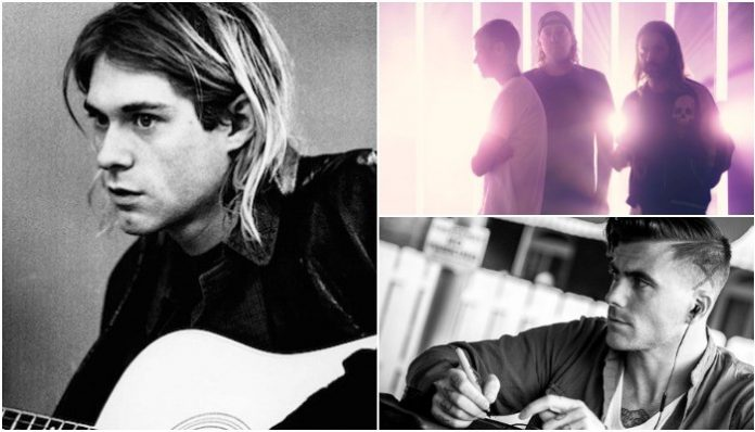 Kurt Cobain, Anthony Green, The Used