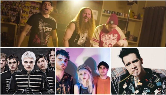 Jared Dines, Vince Mindas, Austin Dickey, Paramore, My Chemical Romance, Panic! At The Disco
