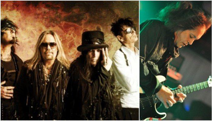 Mötley Crüe, Jake E. Lee, Nikki Sixx