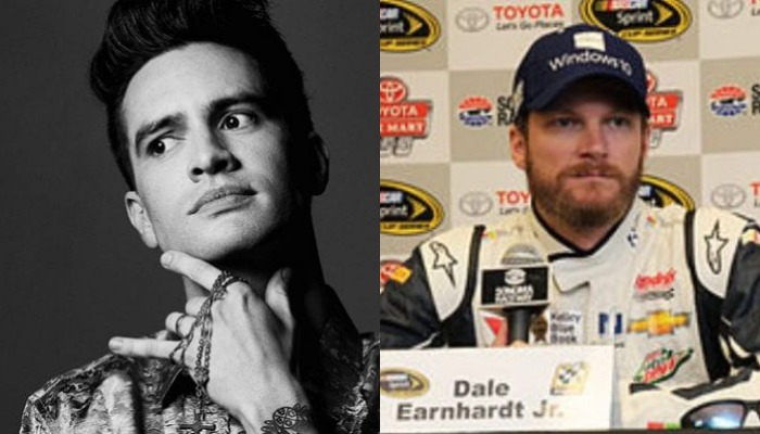 """Panic! At The Disco fan Dale Earnhardt Jr. shotguns beer to """"High Hopes"""""""