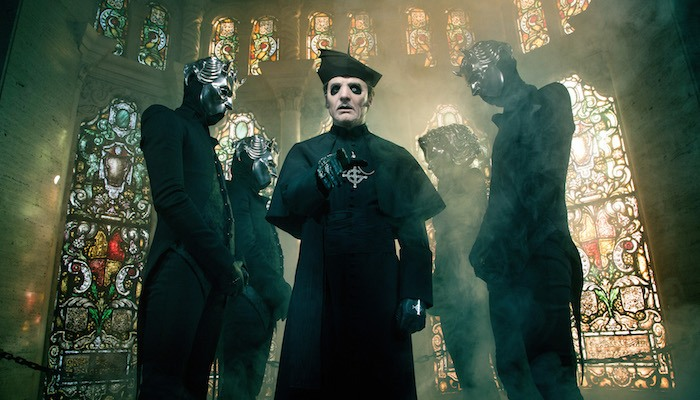 Ghost frontman shuts down claims that fans only care about their imagery