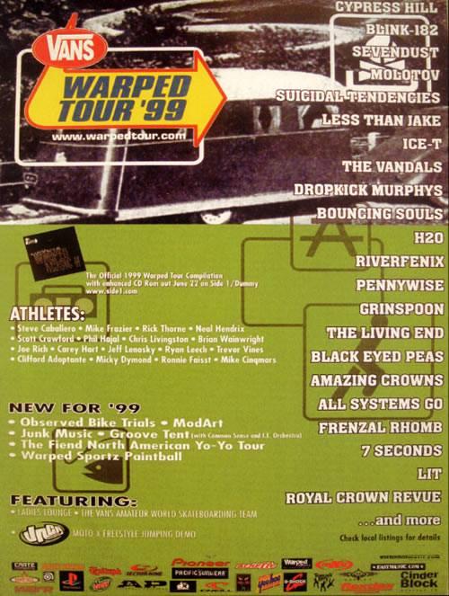 Warped Tour 1999