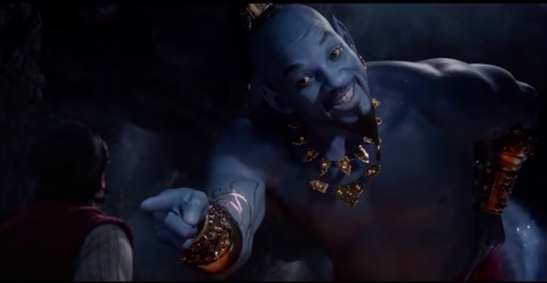 Will Smith previews Genie character, raps 'Aladdin' song 'Friend Like Me'