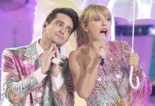 brendon urie taylor swift me bbmas 2019