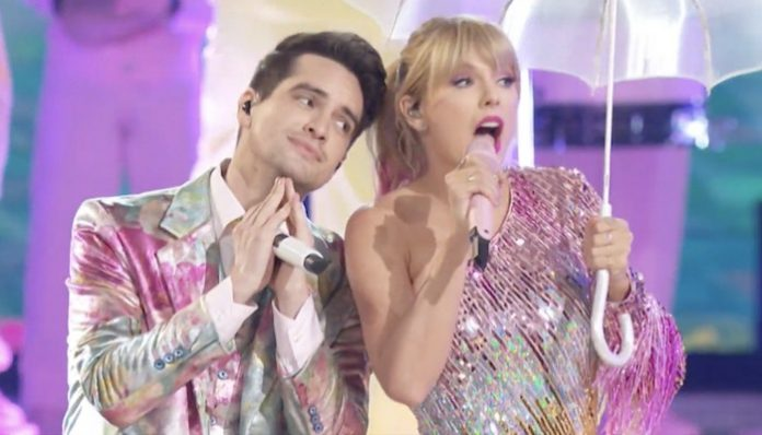 brendon urie taylor swift me bbmas 2019, miss americana, documentary, netflic