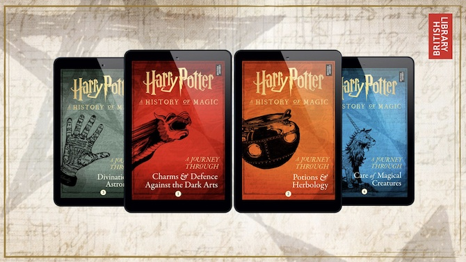 harry potter a journey through e books