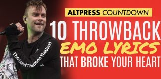 best emo lyrics