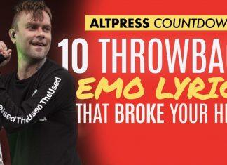best emo lyrics