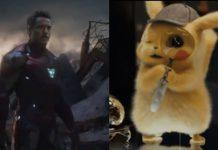 detective pikachu avengers endgame
