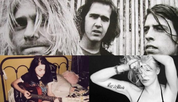 dave grohl courtney love nirvana