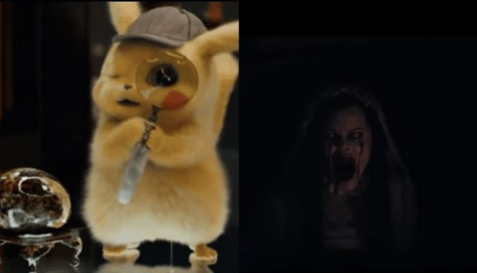 'Detective Pikachu' moviegoers traumatized when horror movie plays instead