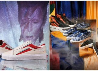 vans collabs david bowie harry potter