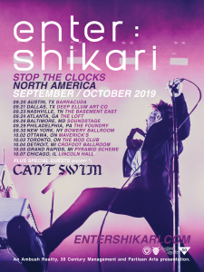 Enter Shikari Stop The Clocks North American tour