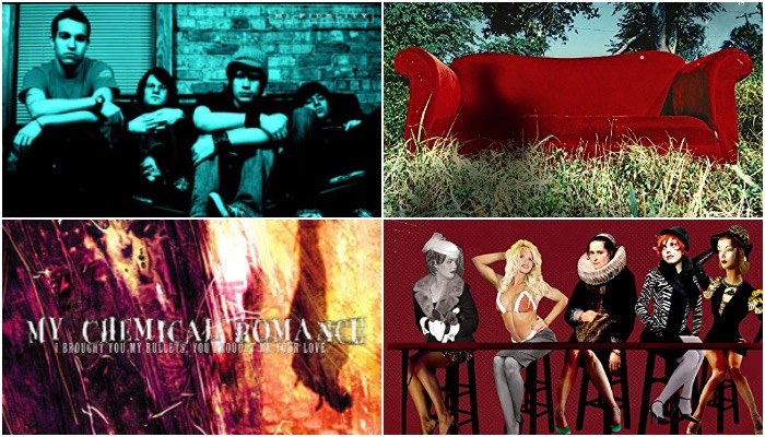 Can you match the band's debut album to the year it was released?