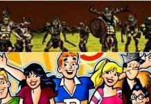 GWAR challenge Archie Comics