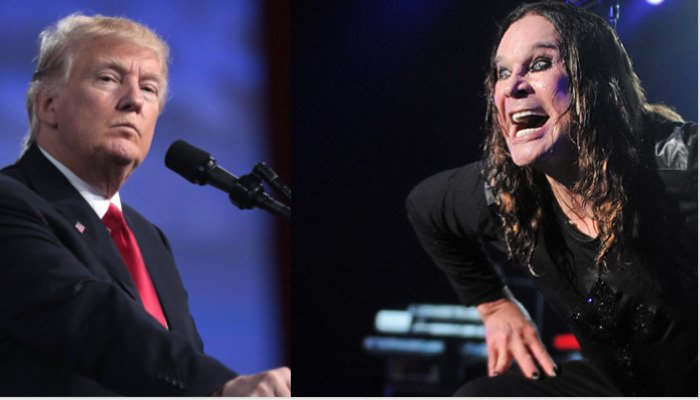 """Ozzy Osbourne bans Trump's use of """"Crazy Train,"""" suggests Kid Rock"""