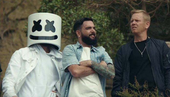 a day to remember marshmello